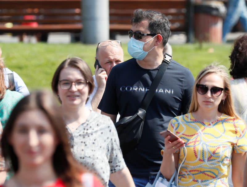Ukraine reports record daily rise in coronavirus cases