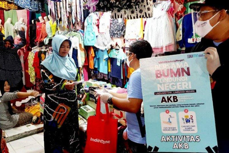 Satgas BUMN Kotawaringin Barat gencarkan kampanye penggunaan masker