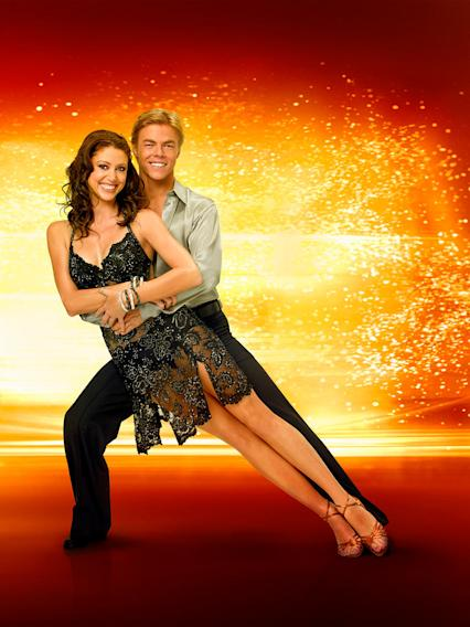 Actress/model Shannon Elizabeth teams up with professional dancer Derek Hough for Season 6 of Dancing with the Stars.