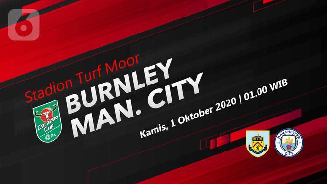 Burnley vs Manchester City (Liputan6.com/Abdillah)