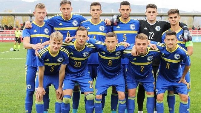 Timnas Indonesia U-19 bakal menghadapi Bosnia dan Herzegovina pada laga uji coba yang digelar Jumat (25/9/2020). (dok. NFSBIH)