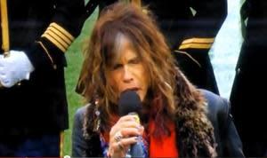 Steven Tyler's Botched National Anthem Not Deemed Golden Ticket-Worthy