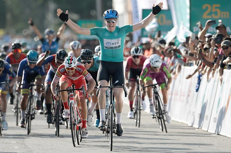 Max Walscheid wins the final stage of Le Tour de Langkawi