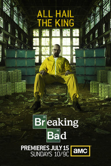 """Breaking Bad"" Season 5 Poster"