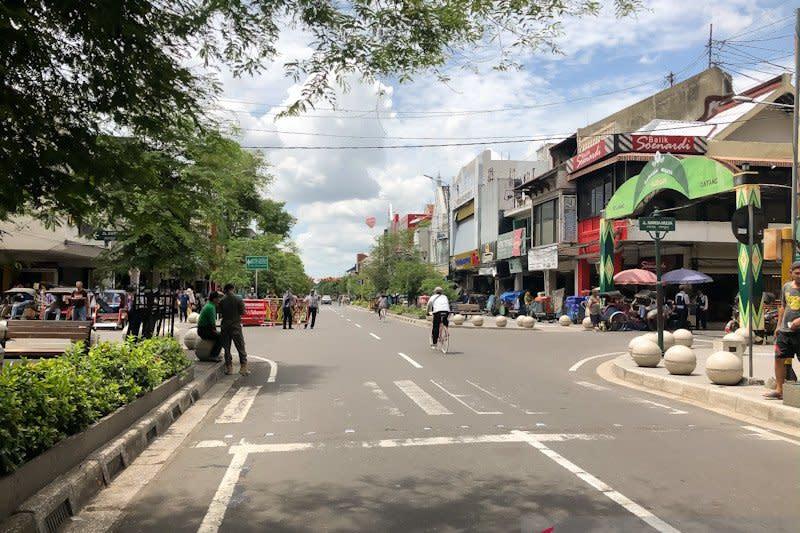 Malioboro ditutup, beban lalu lintas beralih ke Letjen Suprapto