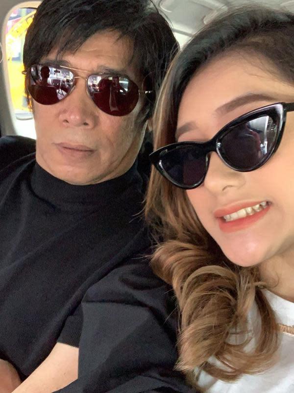 Parto Patrio dan Amanda Caesa (Sumber: Instagram/partopatrio)