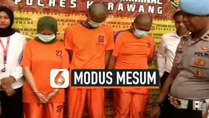 VIDEO: Perampokan dengan Modus Ajak Mesum Dibekuk Petugas