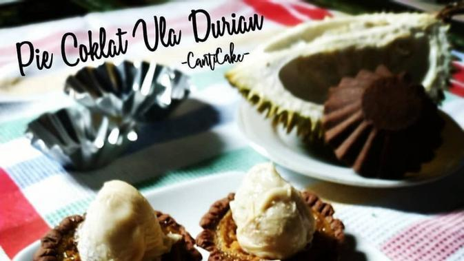 ilustrasi aneka resep pie coklat yang praktis, manis dan enak/Instagram: @canticake