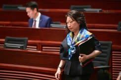 Pemimpin HK kutuk serangan pemrotes terhadap menterinya di London