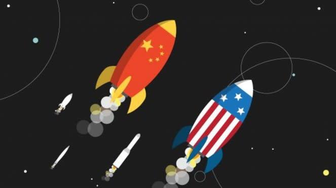 Space Race China Vs Amerika Serikat.
