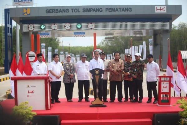 Trans-Sumatera Diresmikan Jokowi, Palembang-Lampung Hanya 4 Jam!