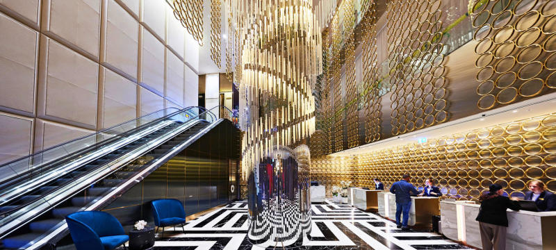 The Star Grand Hotel and Residences new lobby
