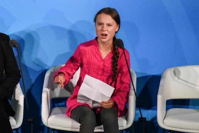 Beim UN-Klimagipfel spricht Greta Thunberg Klartext. (Bild: Stephanie Keith/Getty Images)