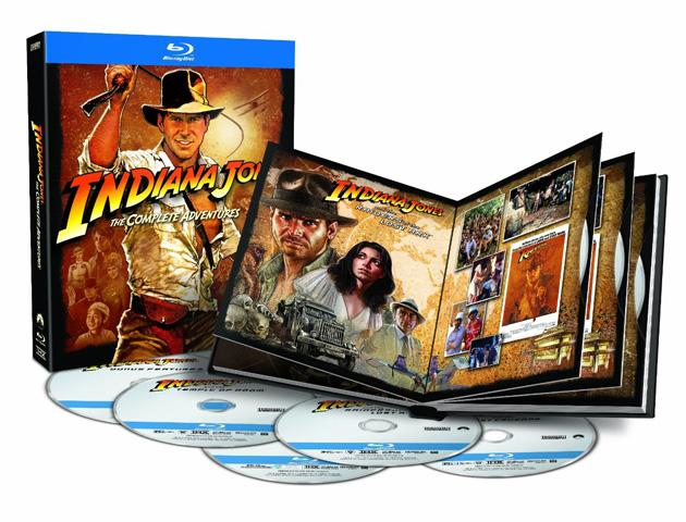 Yahoo! Movies Giveaway: Indiana Jones: The Complete Adventures Blu-ray Prize Pack