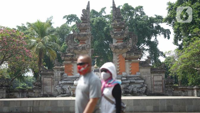 TMII Tutup Selama PSBB Ketat di Jakarta