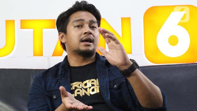 Pemain Film Serigala Langit, Deva Mahenra (Liputan6.com/Helmi Fithriansyah)