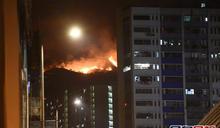 屯門青山山火焚燒近43小時終救熄