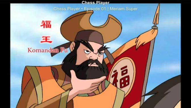 Saksikan Kartun Chess Player Episode-1 Berjudul Meriam Super