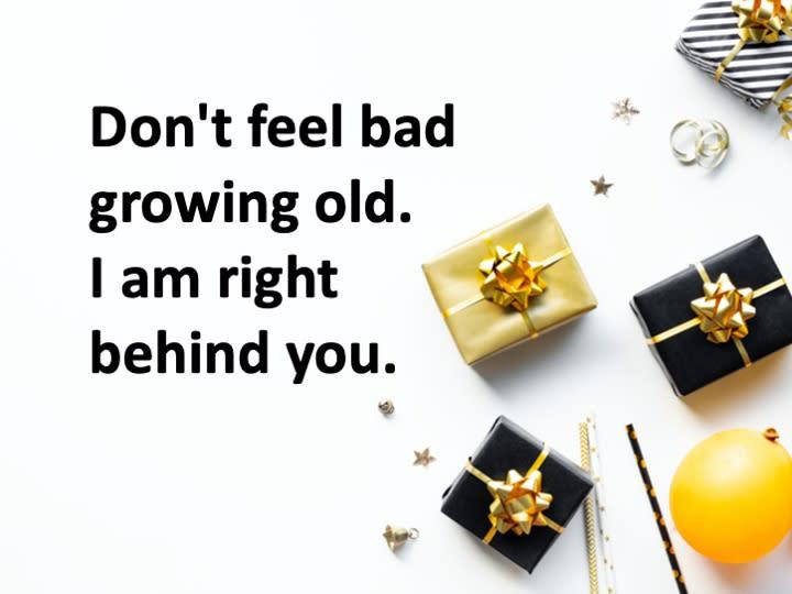 變老了不要難過!我在你左右