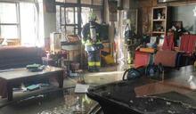 泰安汶水國小校長室濃煙竄起 警方急灌救無人傷亡