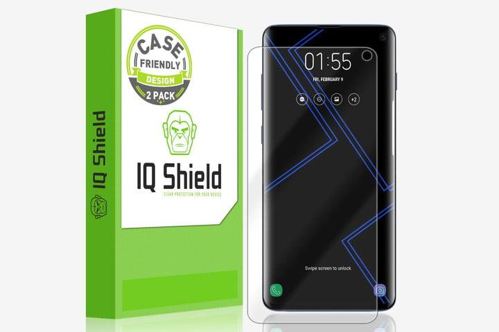 IQ Shield Screen Protector for Samsung Galaxy S10