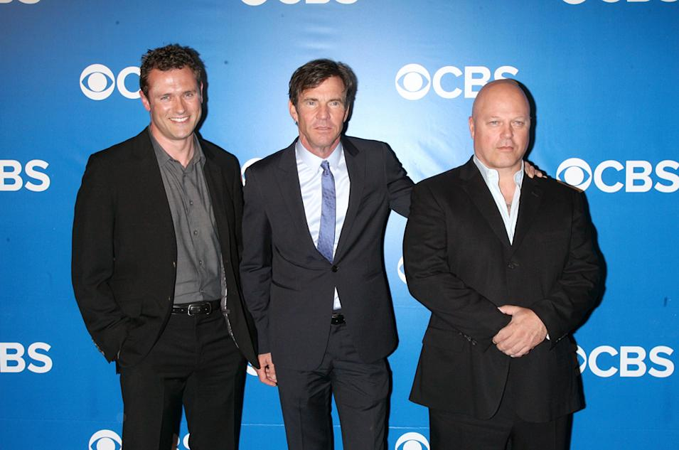 CBS Upfront 2012 - Jason O'Mara, Dennis Quaid and Michael Chiklis
