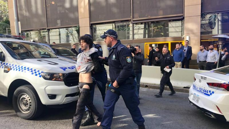 SYDNEY CBD POLICE OPERATION