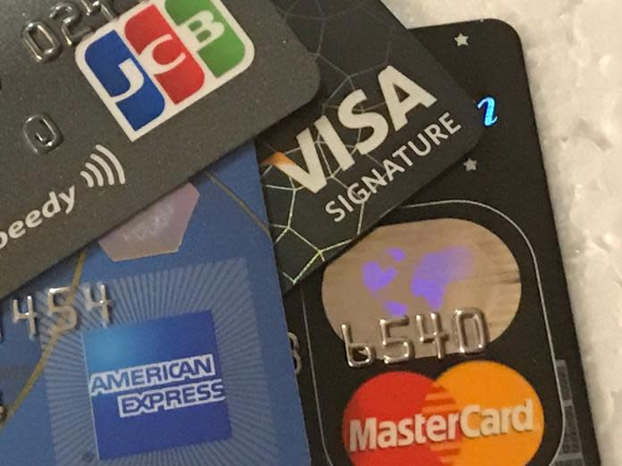 ▲金管會表示,四月份國內受新冠肺炎疫情影響,信用卡刷卡金額喊幅創11年來新高。(圖/NOWnews資料照)