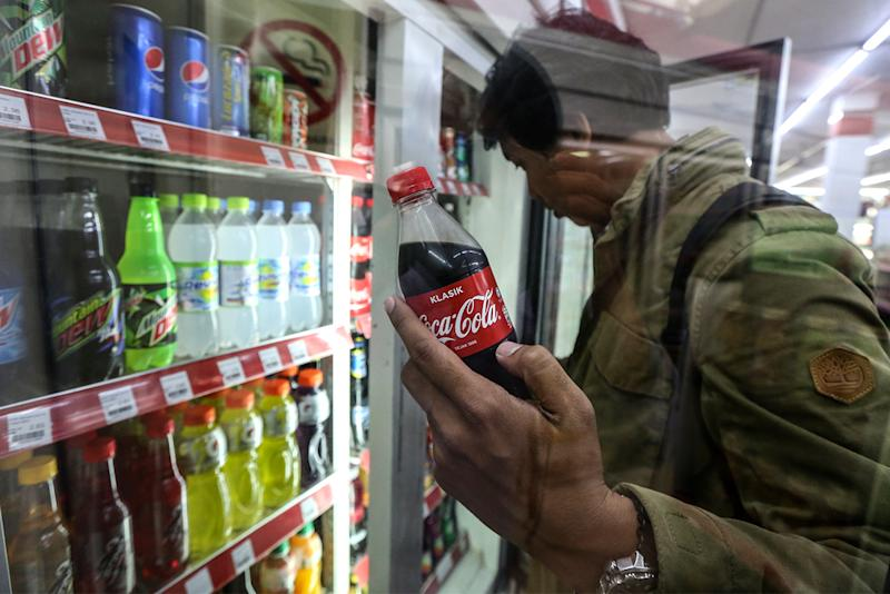 Coca-Cola said that it is fully committed to help contain the Covid-19 outbreak in Malaysia. — Picture by Azneal Ishak