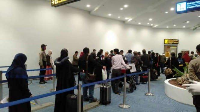 500 WNI Dideportasi dari Malaysia