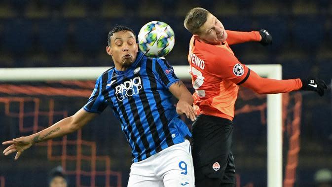 6. Luis Muriel (Atalanta) - 13 Gol (5 Penalti). (AFP/Sergei Supinsky)