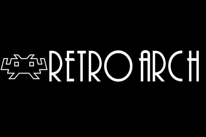 logo for the retro arch emulator