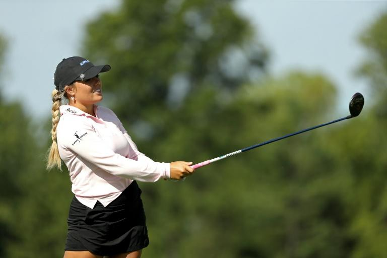 Stephenson, Lee shoot 63s to share LPGA ShopRite lead