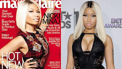 Nicki Minaj: I Don't Work Out or I Lose My Curves