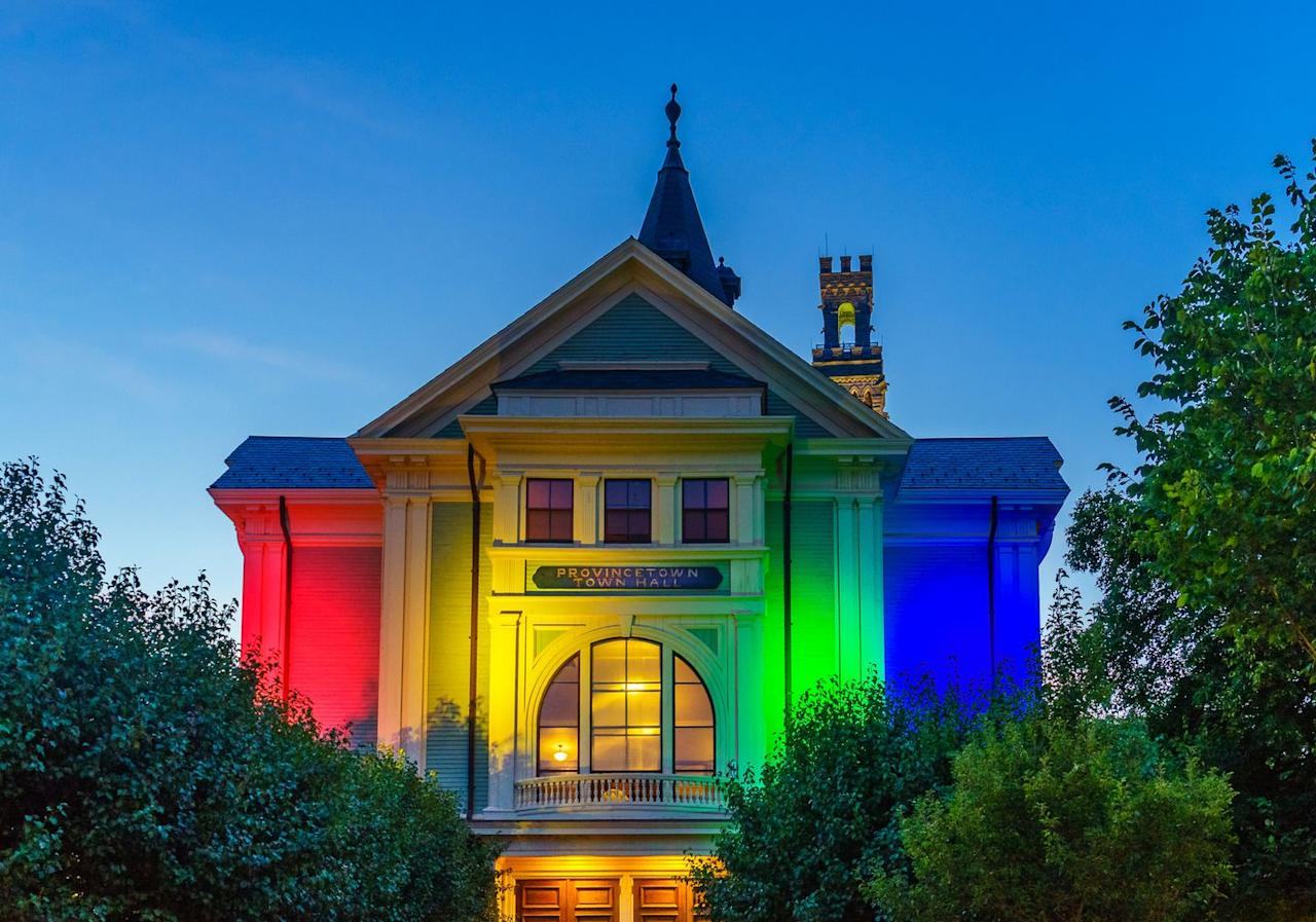 """<p>Located on the northernmost tip of Cape Cod, <a href=""""https://ptownchamber.com/"""" target=""""_blank"""">Provincetown</a> (often shortened to P-Town) has been a LGBTQ+ destination since the beginning of the 20th century. The Portland Gale was a storm in 1898 that heavily affected New England with most of the damage hitting Massachusetts.  This allowed progressive types to dominate towns like Provincetown by taking over abandoned buildings and creating businesses of their own. Fast forward a few decades and P-Town is now known as one of the most influential LGBTQ+ summer destinations in North America. </p>"""