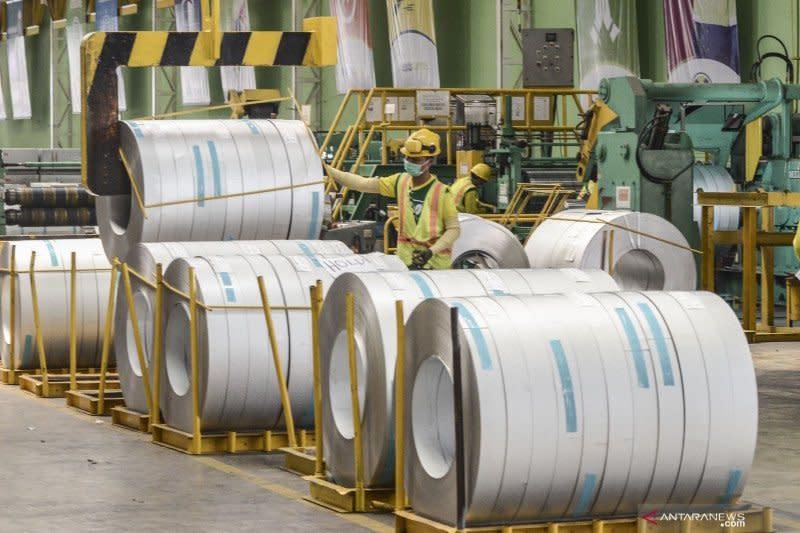 Kemenperin dorong pengembangan industri hulu baja dalam negeri