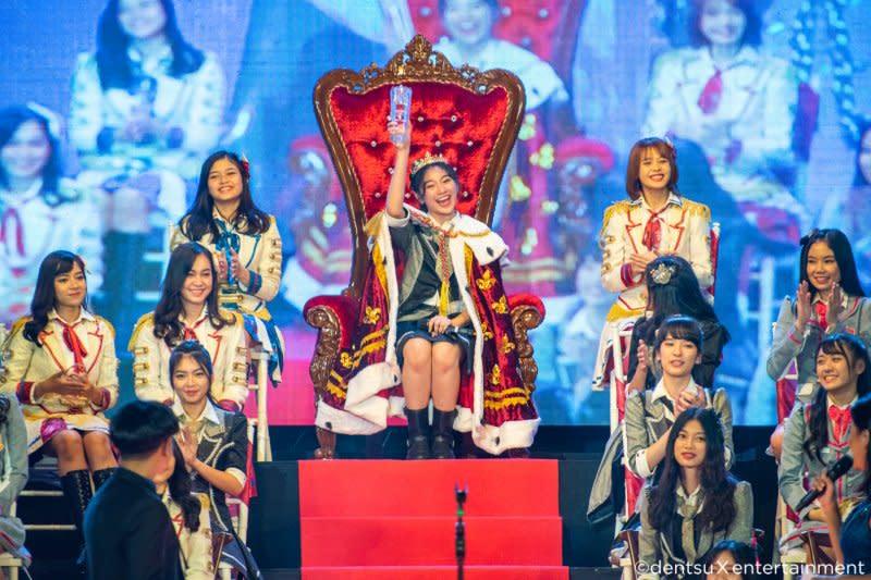 Shani Indira, pemenang Pemilu JKT48 tahun ini