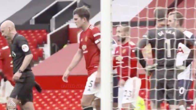 Kapten Manchester United, Harry Maguire, usai tenangkan Marcus Rashford