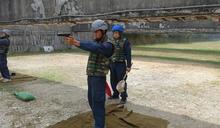 中業軍艦輕武器射擊 落實訓練強化戰力