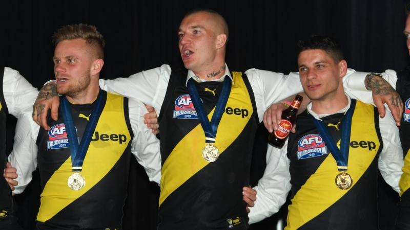 AFL GRAND FINAL VICTORY RECEPTION