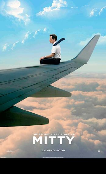 The Secret Life of Walter Mitty Plane Poster