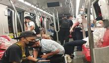 吉隆坡2輕軌列車相撞 47重傷百餘人輕傷