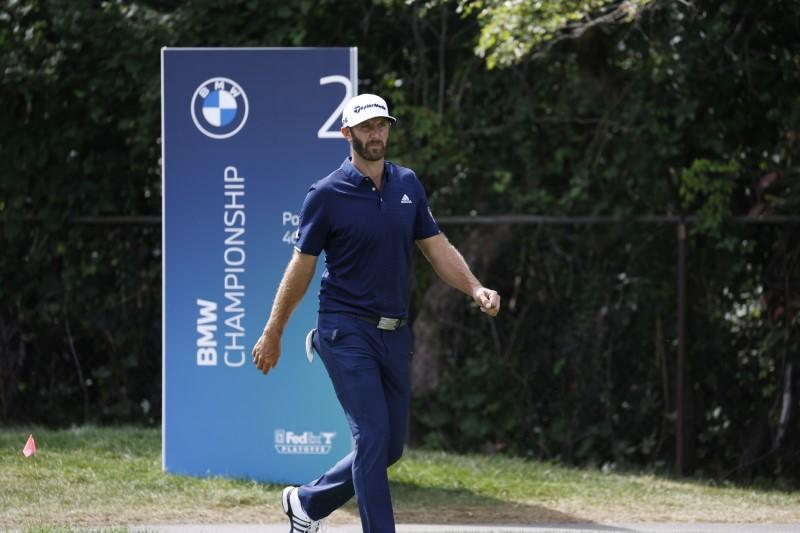Johnson and Rahm set for battle in playoff finale