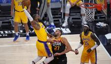 NBA》詹皇也救不了?湖人變陣反遭爵士狂勝25分