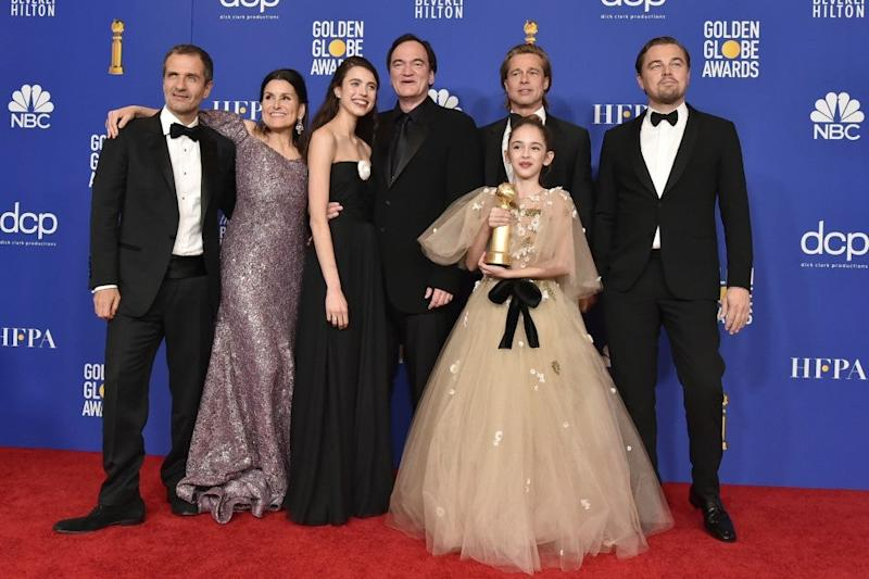 2020 Golden Globes, Once Upon a Time in Hollywood