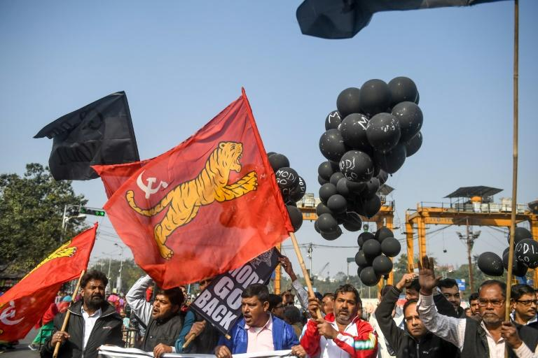 Widespread demonstrations have rocked the Hindu-majority nation since the law was approved by parliament last month