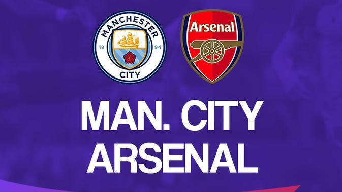 Link Live Streaming Liga Inggris: Manchester City Vs Arsenal