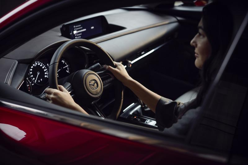 Mazda CX-30 delivers precise steering control along with the sharp turns. — Picture courtesy of Bermaz Motor