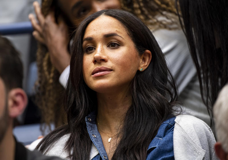 Meghan Markle necklace at US Open