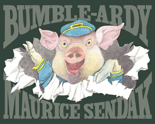 "In this book cover image released by HarperCollins, children's book ""Bumble Ardy,"" by Maurice Sendak, is shown. Sendak, author and illustrator of popular children's books died, Tuesday, May 8, 2012 at Danbury Hospital in Danbury, Conn. He was 83. (AP Photo/HarperCollins, Copyright © 2011 by Maurice Sendak)"